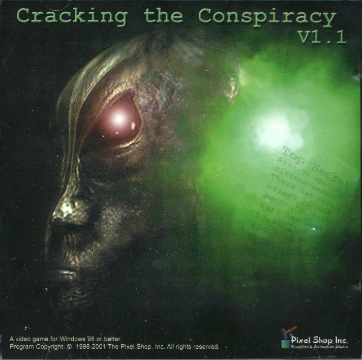 Cracking the Conspiracy Windows Front Cover