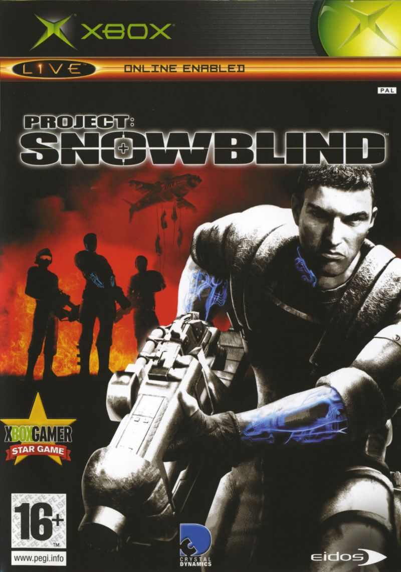 Project: Snowblind Xbox Front Cover