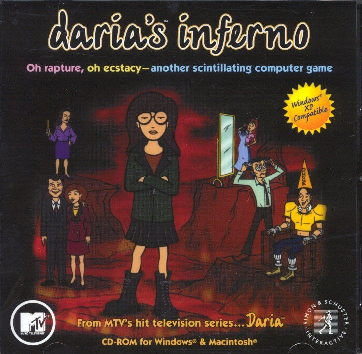 Daria's Inferno Macintosh Front Cover