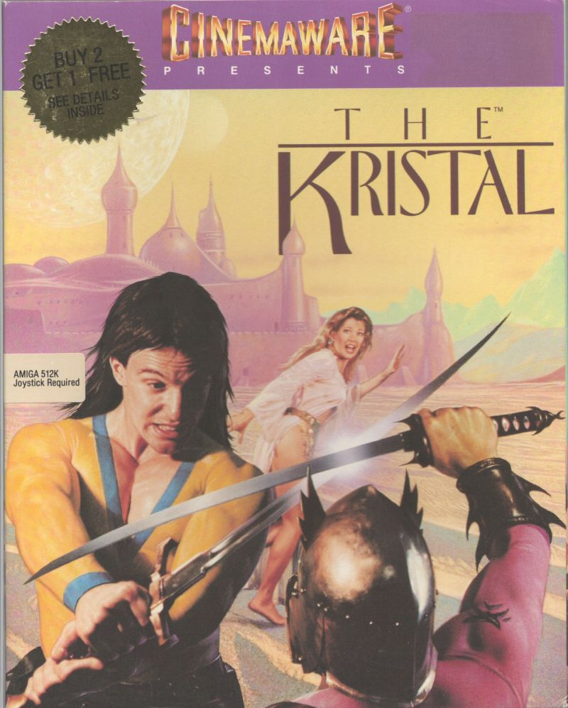 The Kristal Amiga Front Cover