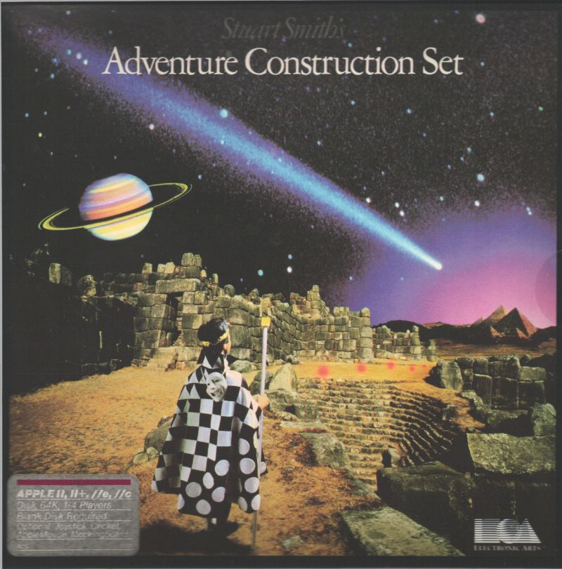 Stuart Smith's Adventure Construction Set Apple II Front Cover