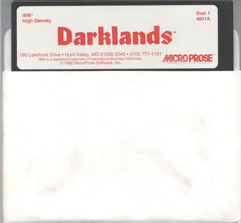 Darklands DOS Media Disk 1/11
