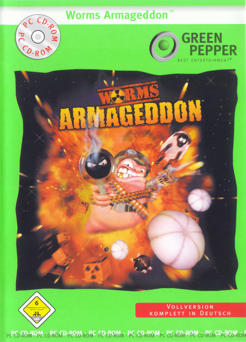 Worms: Armageddon Windows Front Cover