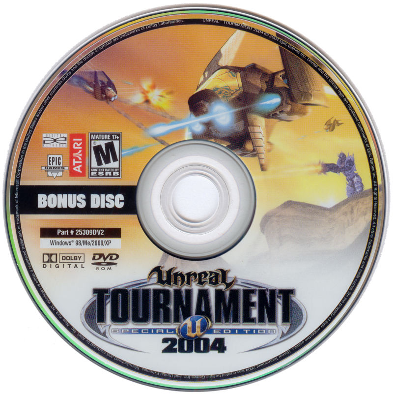 Unreal Tournament 2004 (DVD Special Edition) Windows Media Bonus Disc