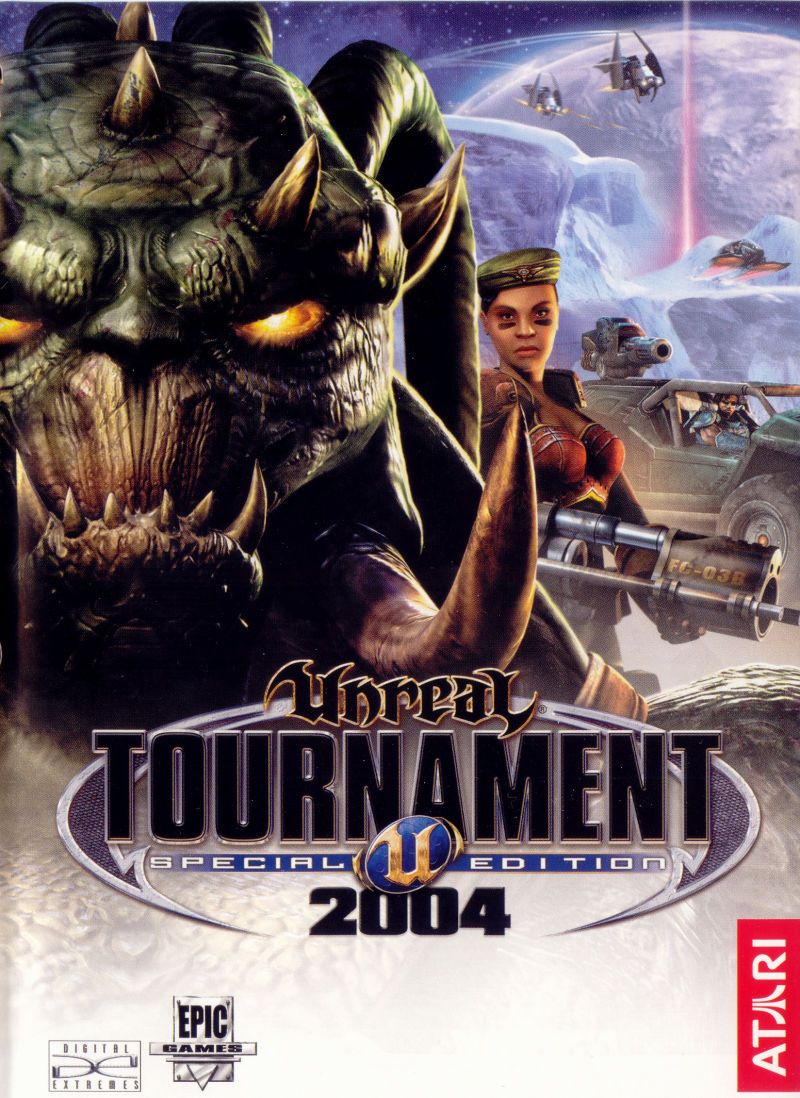 Unreal Tournament 2004 (DVD Special Edition) Windows Other Keep Case - Front