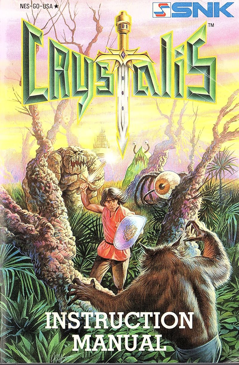 Crystalis 1990 Nes Box Cover Art Mobygames