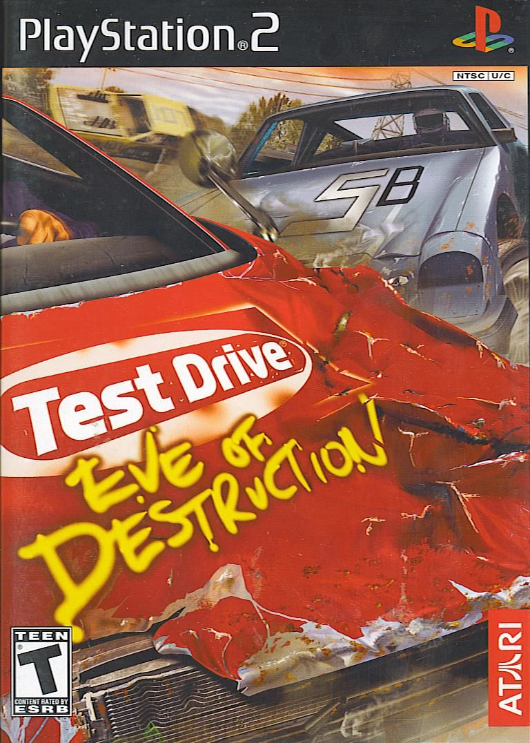Test Drive: Eve of Destruction PlayStation 2 Front Cover