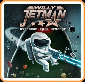постер игры Willy Jetman: Astromonkey's Revenge