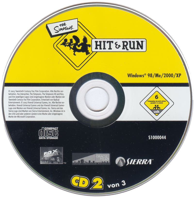 The Simpsons: Hit & Run Windows Media 2/3