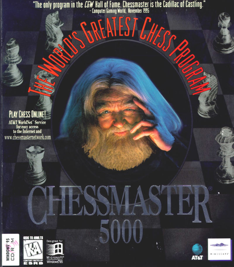 Chessmaster 5000 Windows Front Cover