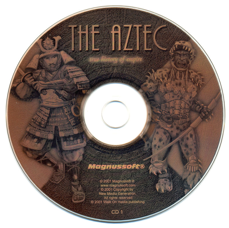 Aztec Wars Windows Media Disc 1/2