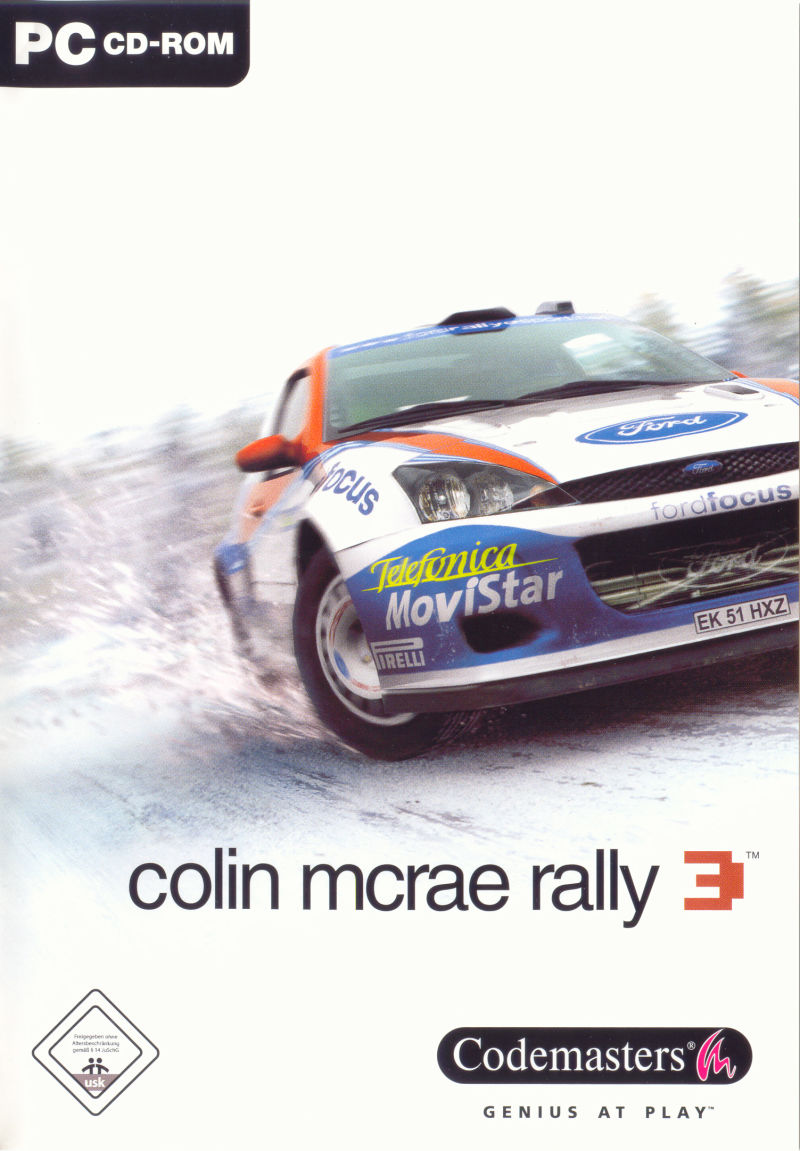 Colin McRae Rally 3 Windows Front Cover