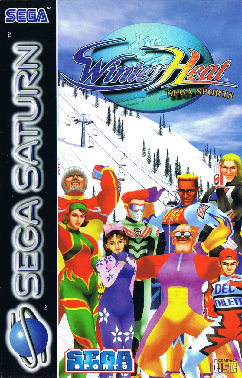 Winter Heat SEGA Saturn Front Cover