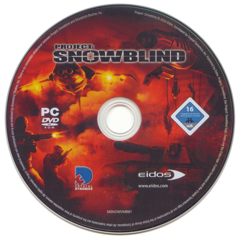 Project: Snowblind Windows Media