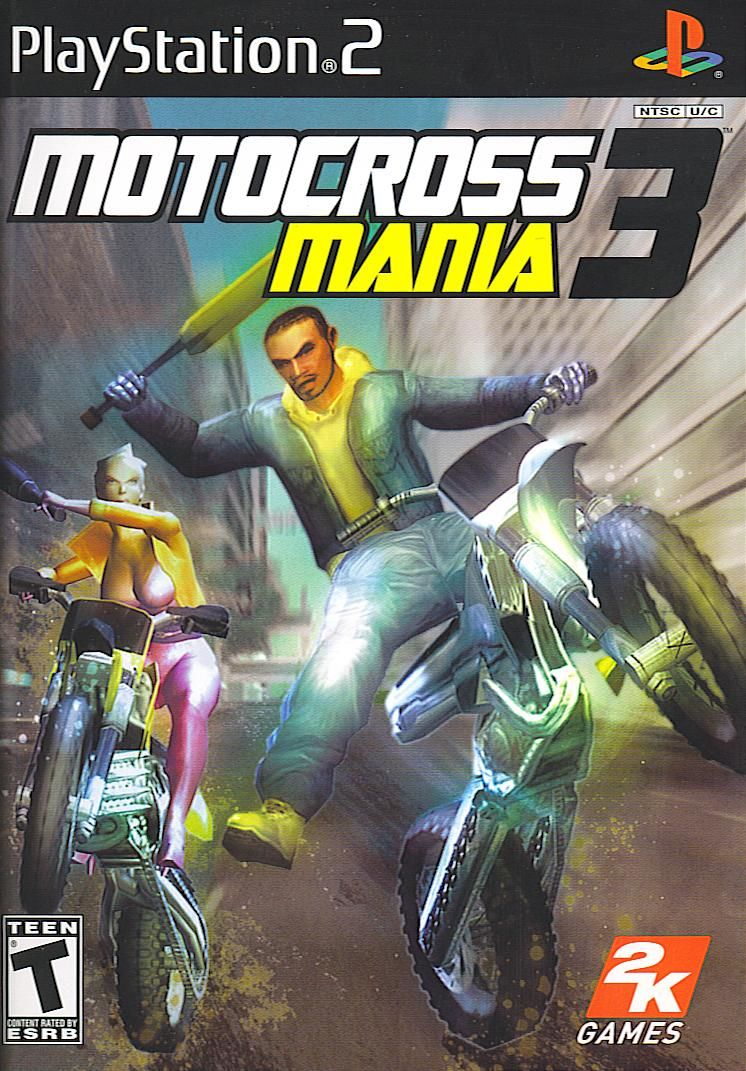 Motocross Mania 3 PlayStation 2 Front Cover