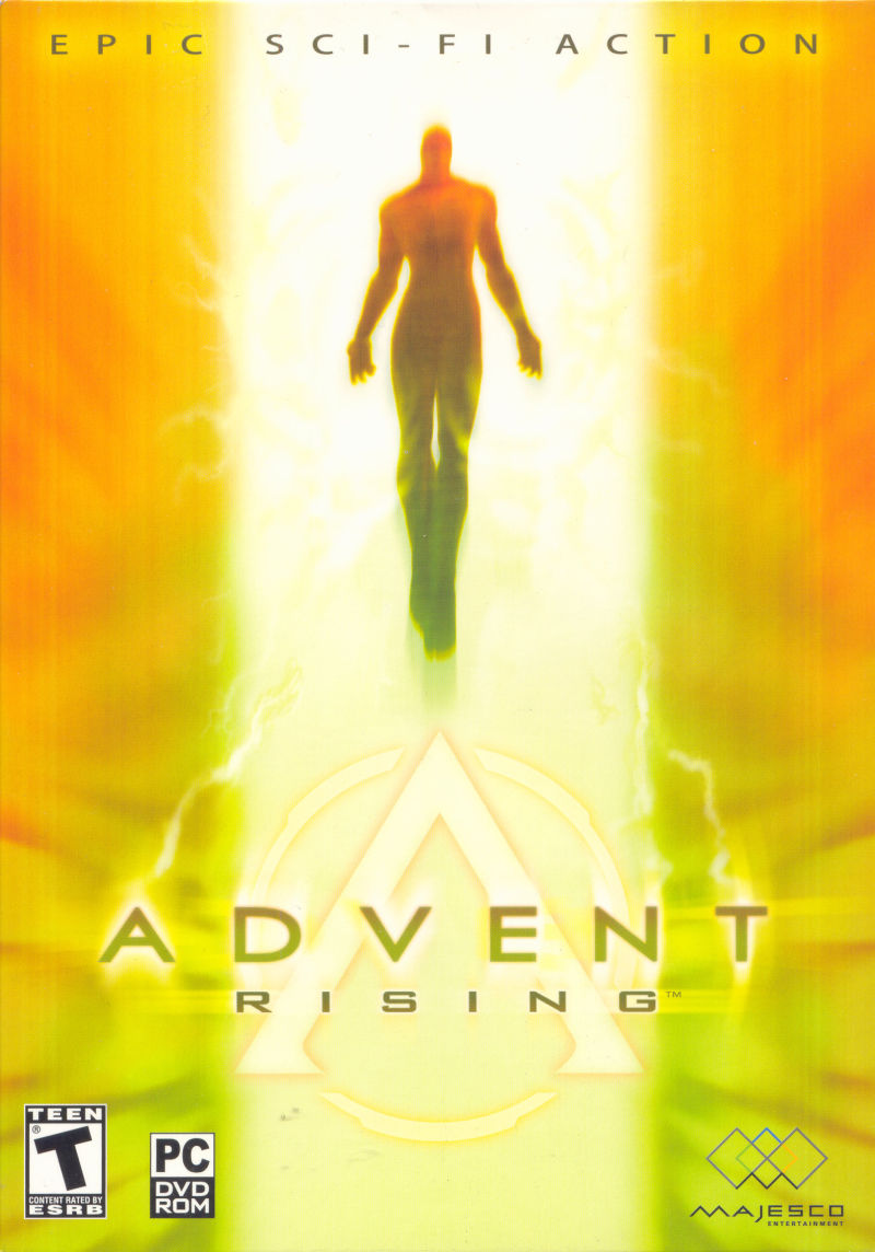 Advent Rising Windows Front Cover
