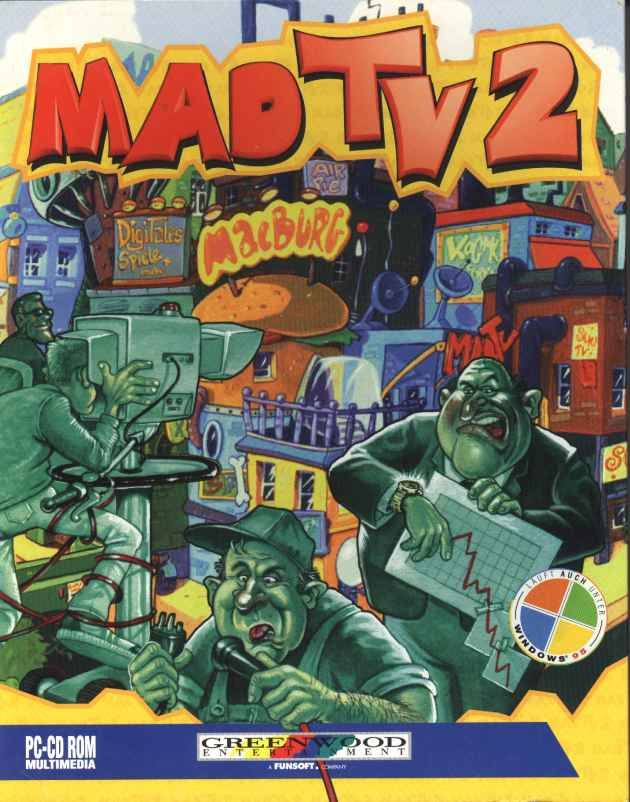 Mad TV 2 (1996) DOS box cover ...