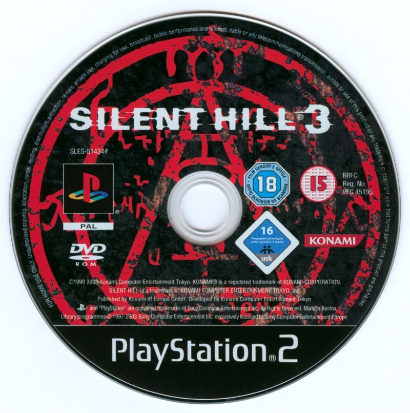 The Silent Hill Collection PlayStation 2 Media Silent Hill 3