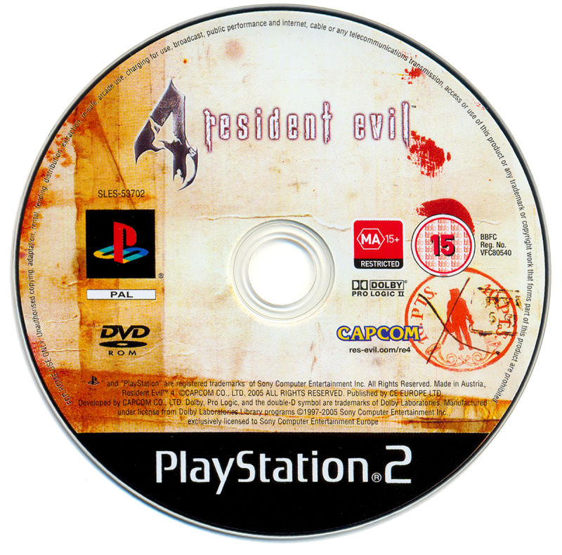 Resident Evil 4 (Limited Edition) PlayStation 2 Media