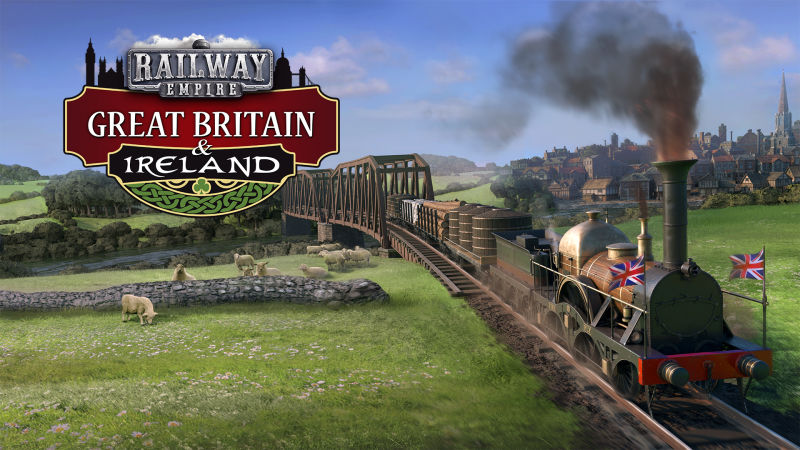 Railway Empire: Great Britain & Ireland Nintendo Switch Front Cover