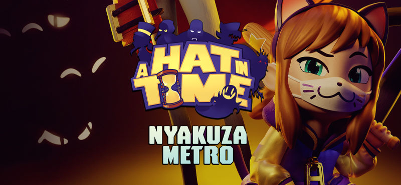 A Hat in Time: Nyakuza Metro Windows Front Cover