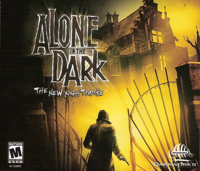 Alone in the Dark: The New Nightmare Windows Other Jewel Case - Front