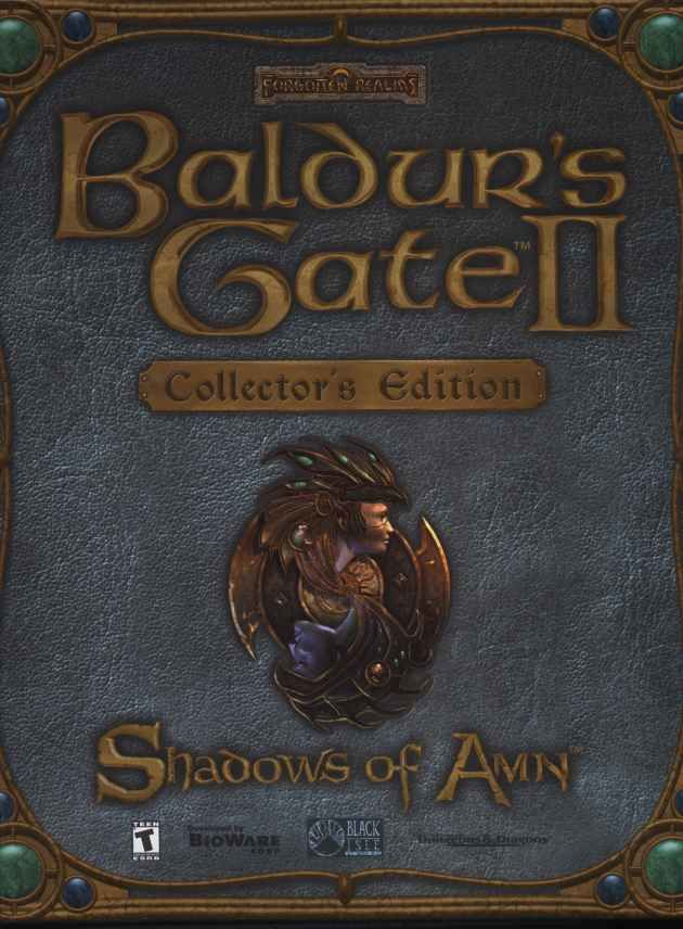 Baldur's Gate II: Shadows of Amn (Collector's Edition) Windows Front Cover