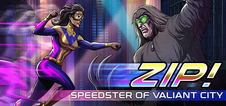 постер игры Zip!: Speedster of Valiant City