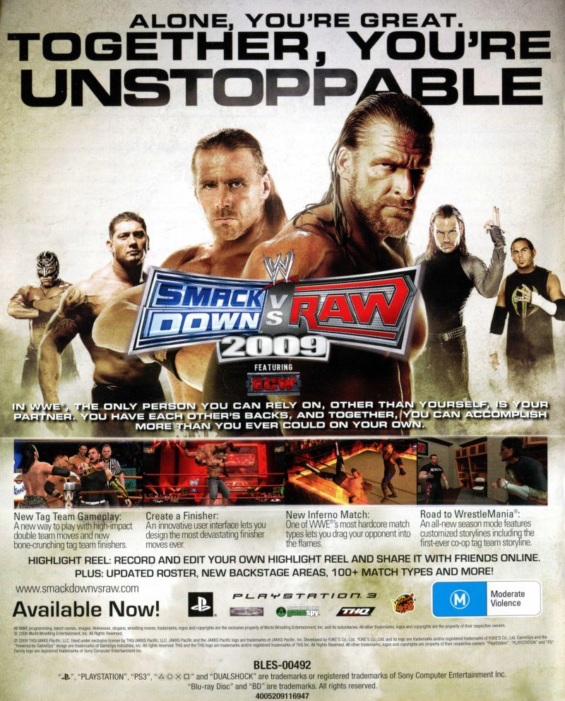 Wwe Legends Of Wrestlemania 2009 Box Cover Art Mobygames