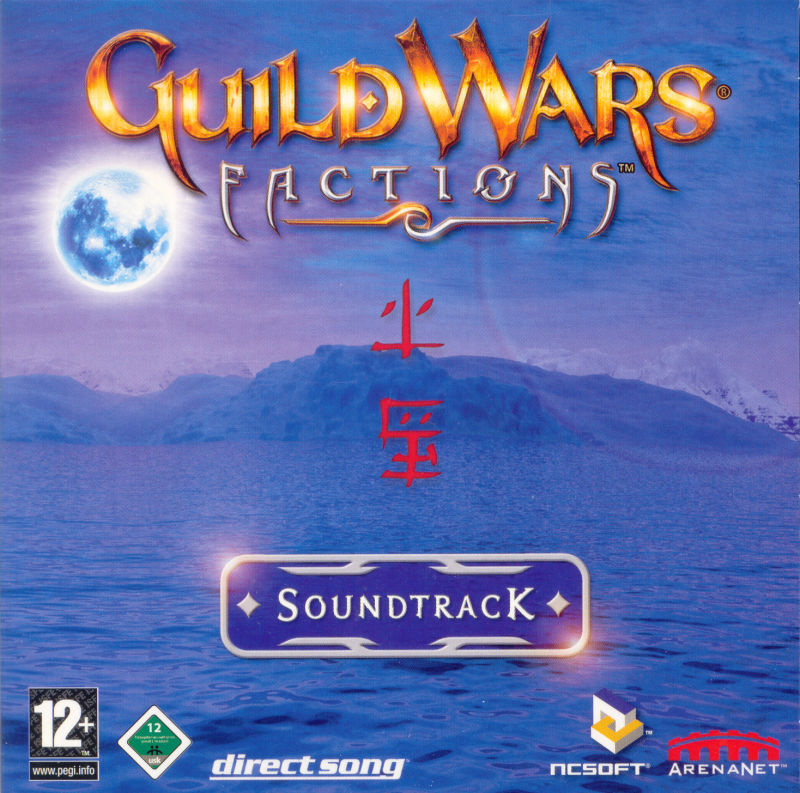Guild Wars: Factions (Collector's Edition) Windows Other Soundtrack - Sleeve - Front