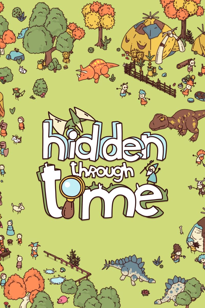 Hidden Through Time Xbox One Front Cover