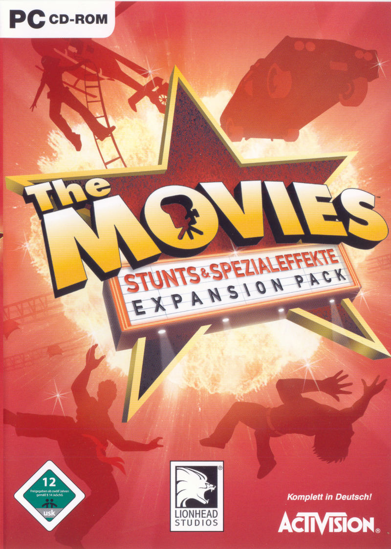The Movies: Stunts & Effects Windows Front Cover