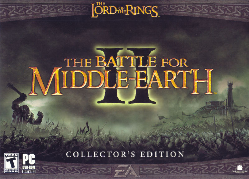 The Lord of the Rings: The Battle for Middle Earth II (Collector's Edition) Windows Front Cover