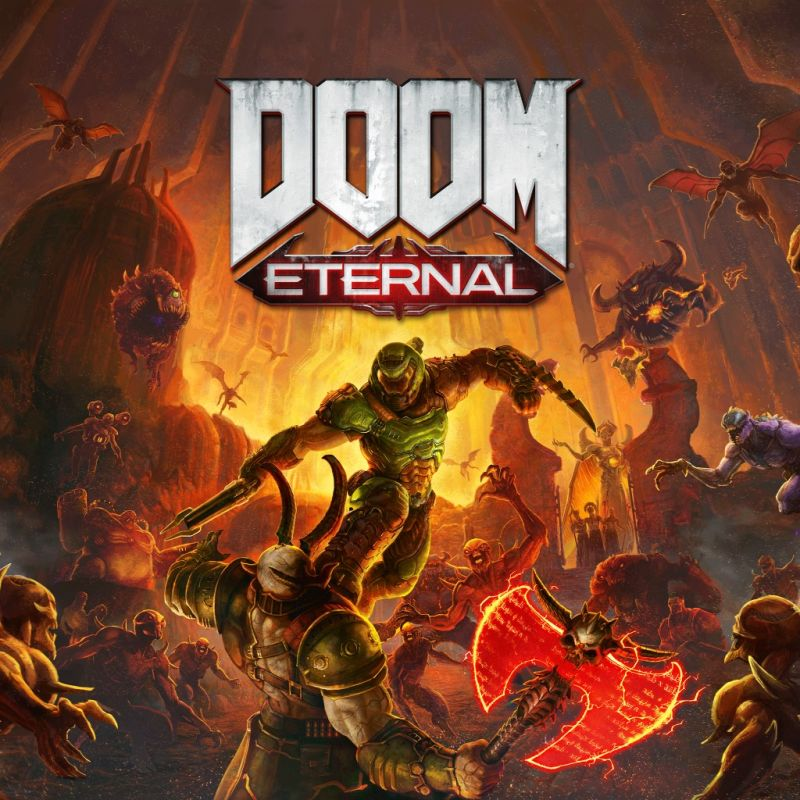 постер игры DOOM Eternal