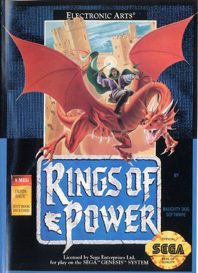 Rings of Power Genesis Front Cover