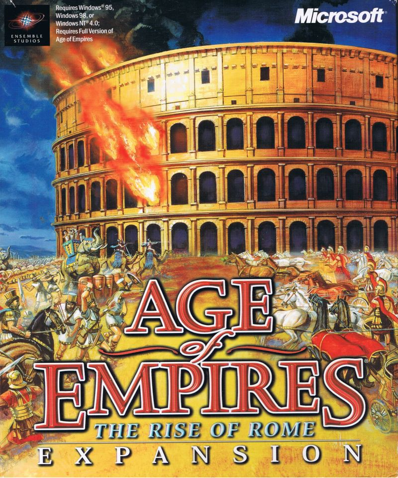 Age Of Empires: The Rise Of Rome For Windows (1998