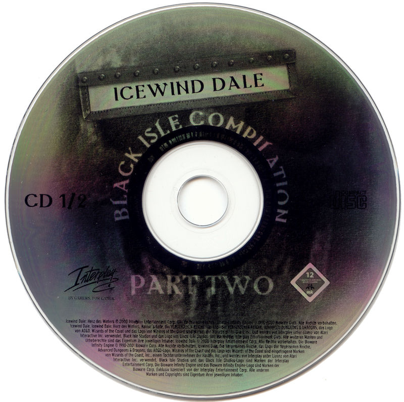 Black Isle Compilation Part Two Windows Media Icewind Dale - Disc 1/2