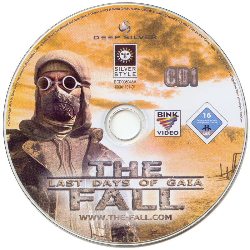 The Fall: Last Days of Gaia Windows Media Disc 1/2