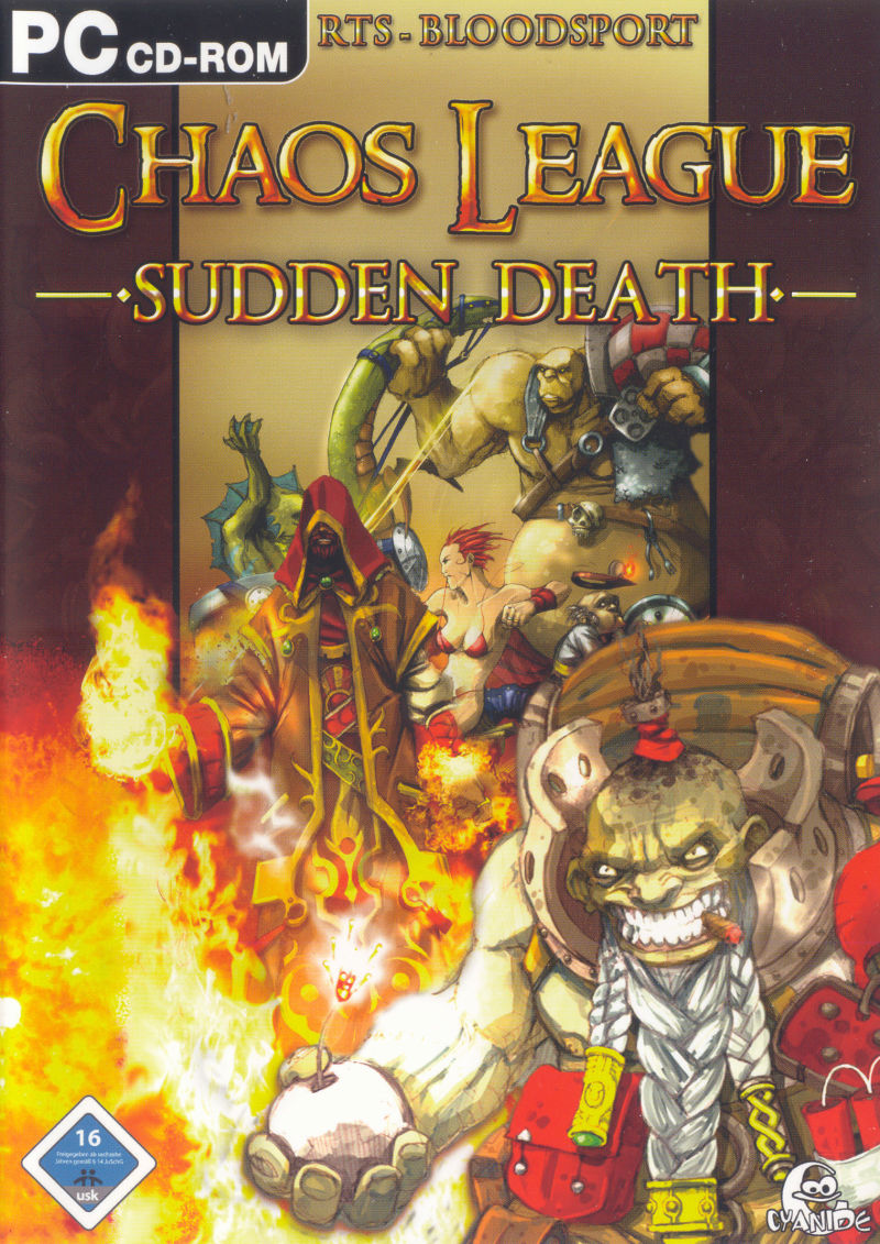 Chaos League: Sudden Death Windows Front Cover