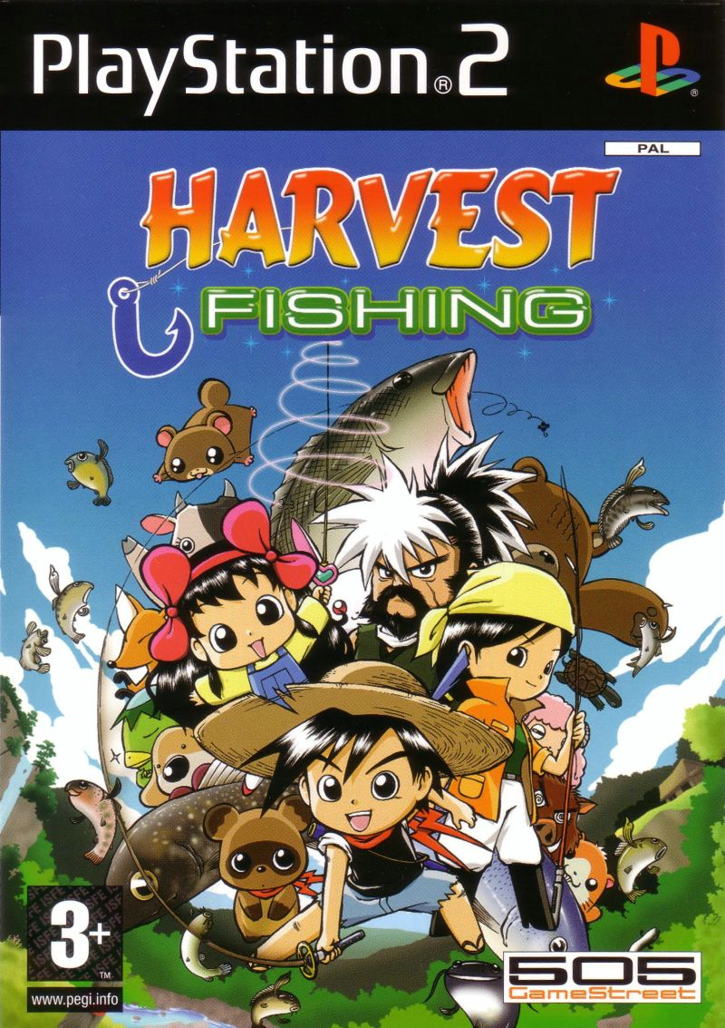 River King: A Wonderful Journey PlayStation 2 Front Cover