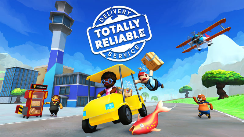 Totally Reliable Delivery Service Nintendo Switch Front Cover