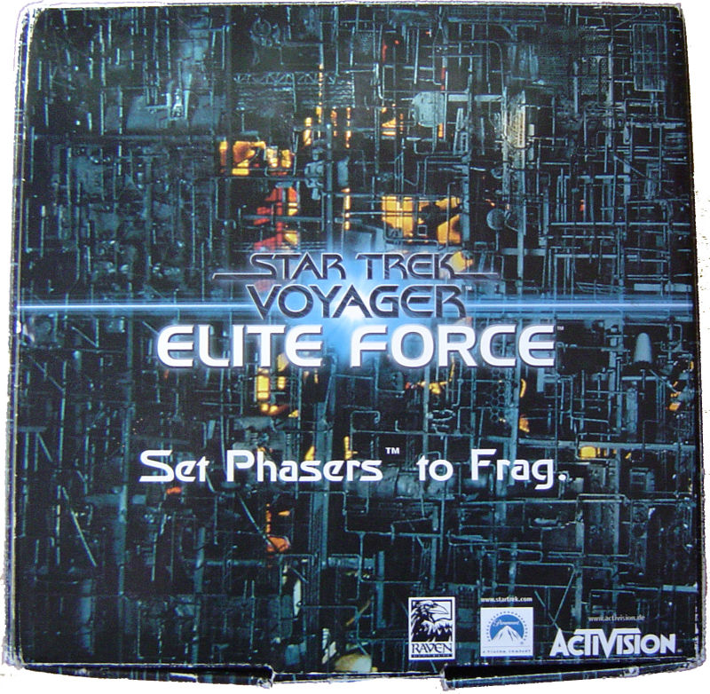 Star Trek: Voyager - Elite Force (Collector's Edition) Windows Front Cover