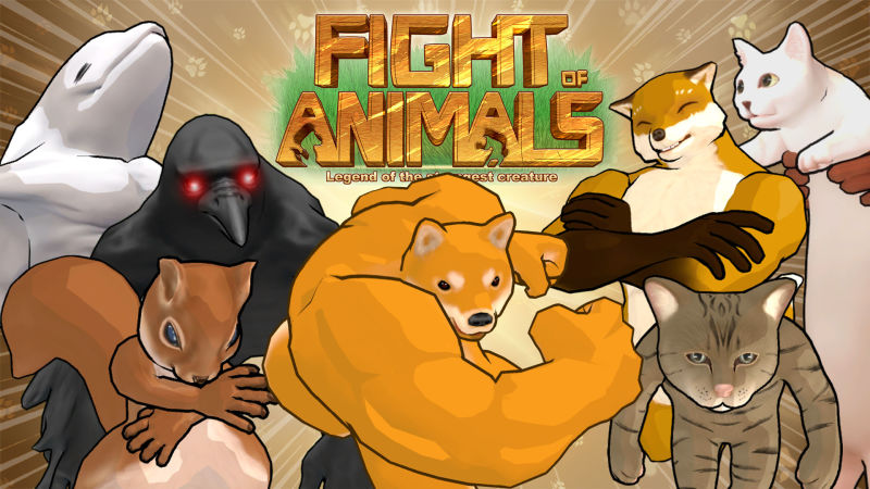 обложка 90x90 Fight of Animals: Legend of the Strongest Creature
