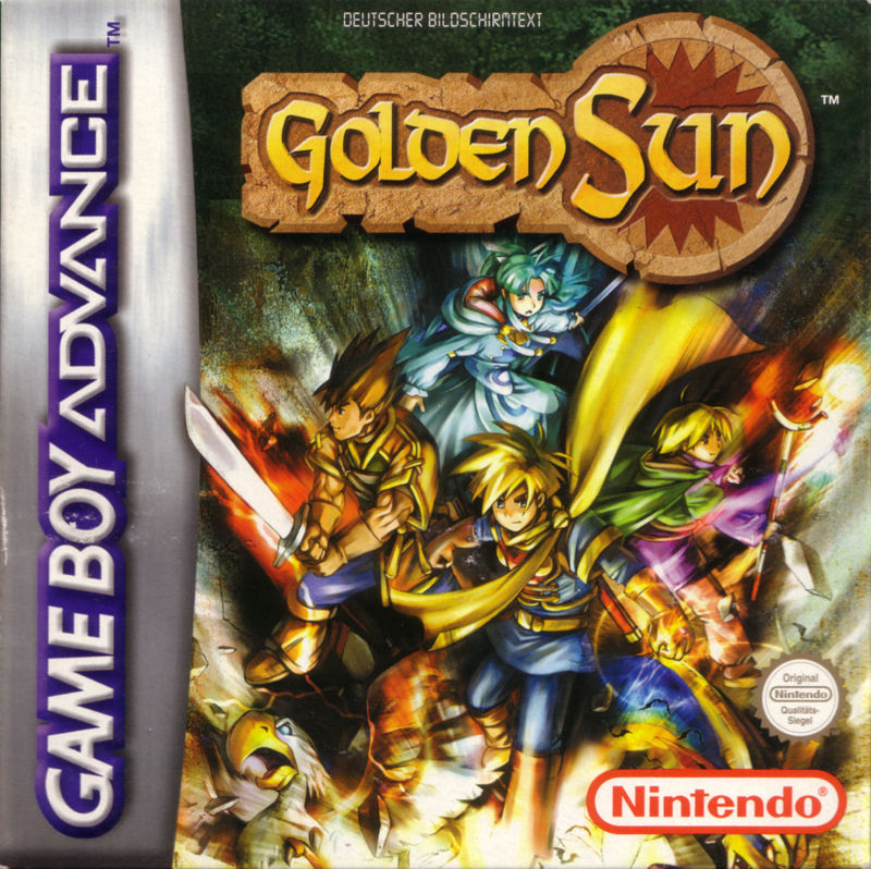 Golden Sun Game Boy Advance Front Cover