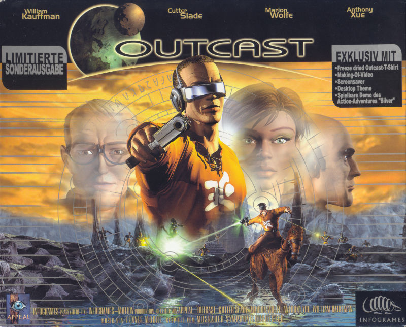 Outcast (Limited Edition) Windows Front Cover