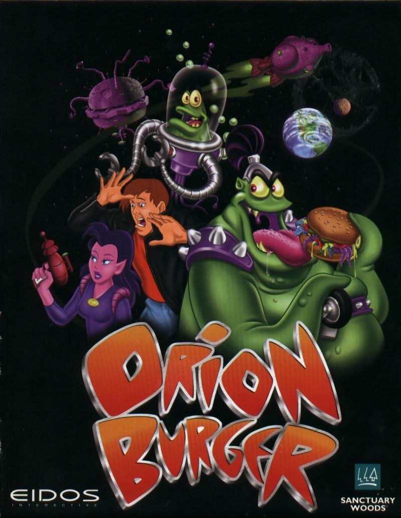 Orion Burger DOS Front Cover