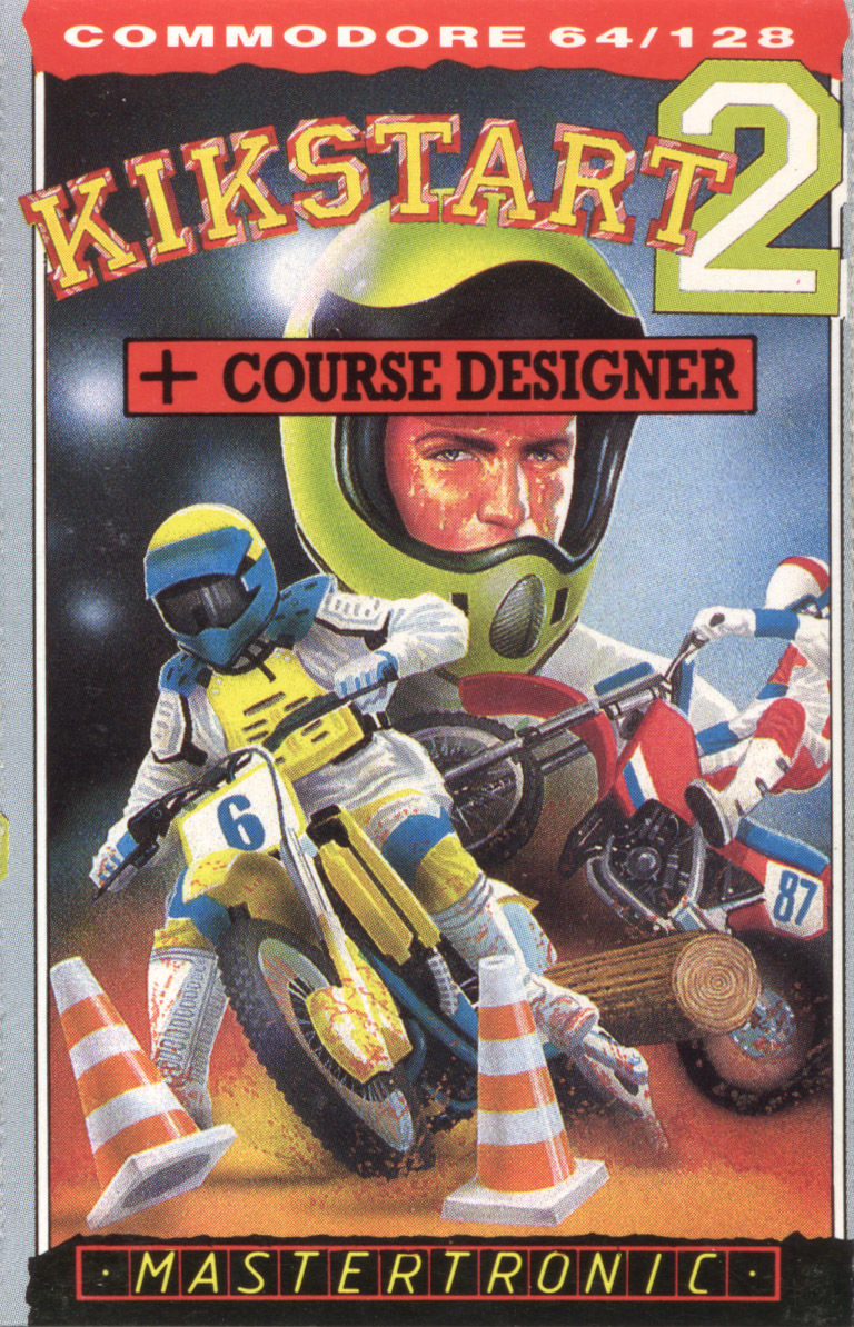 Kikstart 2 Commodore 64 Front Cover