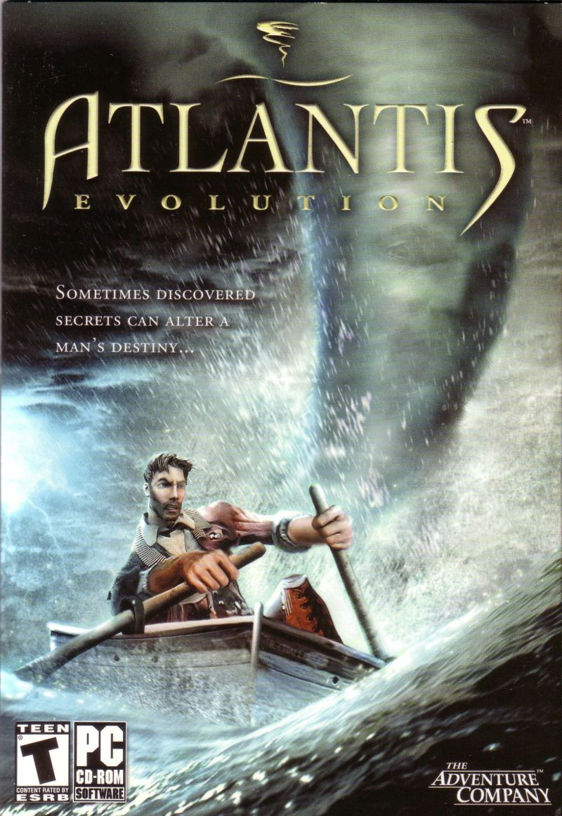 Atlantis Evolution Windows Front Cover