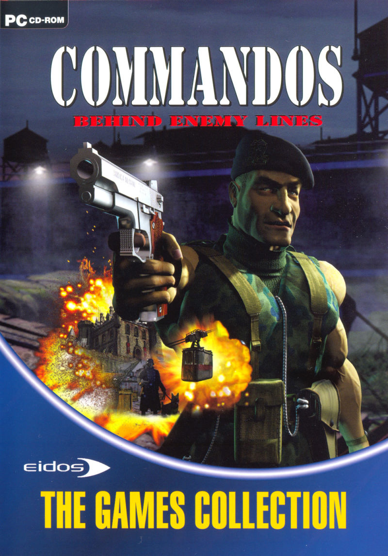 Commandos Collection Windows Other Keep Case - Front (Behind Enemy Lines)