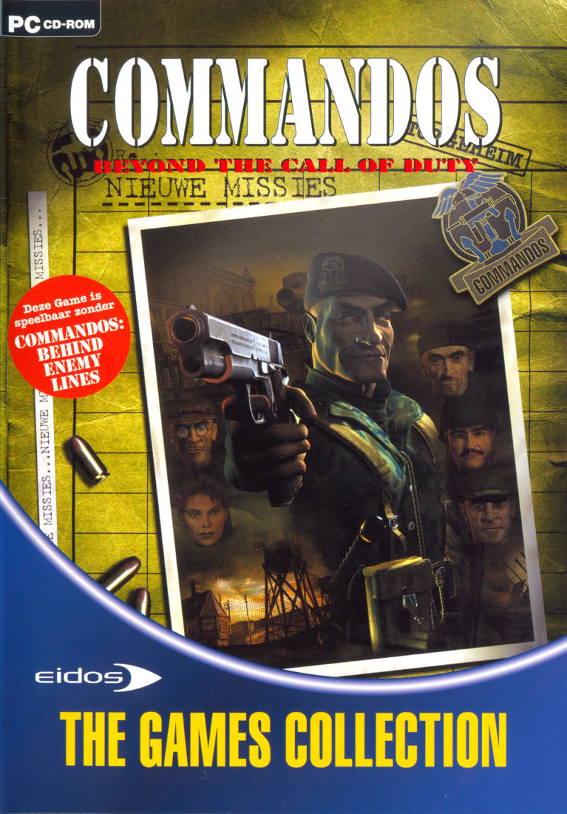Commandos Collection Windows Other Keep Case - Front (Beyond the Call of Duty)